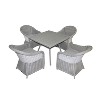 Комплект столовый из искусственного полукруга  Неаполь
