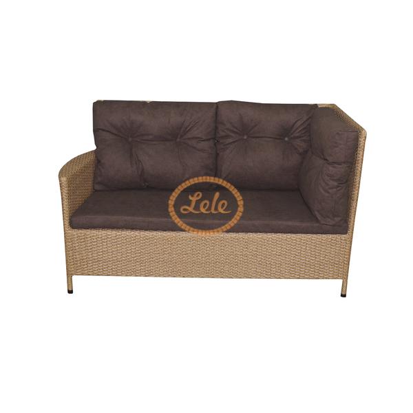 Угловой диван из искусственного ротанга Мирисса  200х150х90