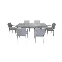 Комплект столовый  из искусственного ротанга Пеле