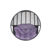 Кресло подвесное  из искусственного прута плетение ромб