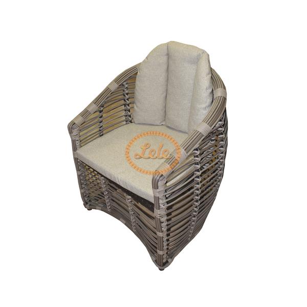 Кресло из искусственного прута 10мм Таити