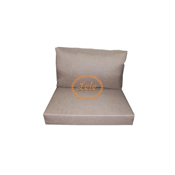 Сидушка и подушка на мебель