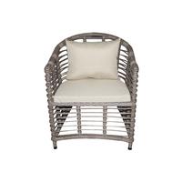 Кресло из искусственного прута Афины
