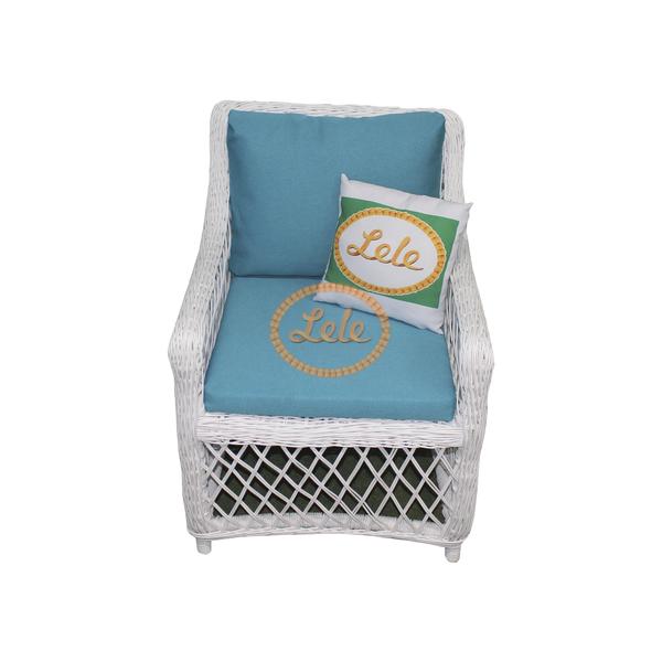 Кресло из искусственного прута Гоа