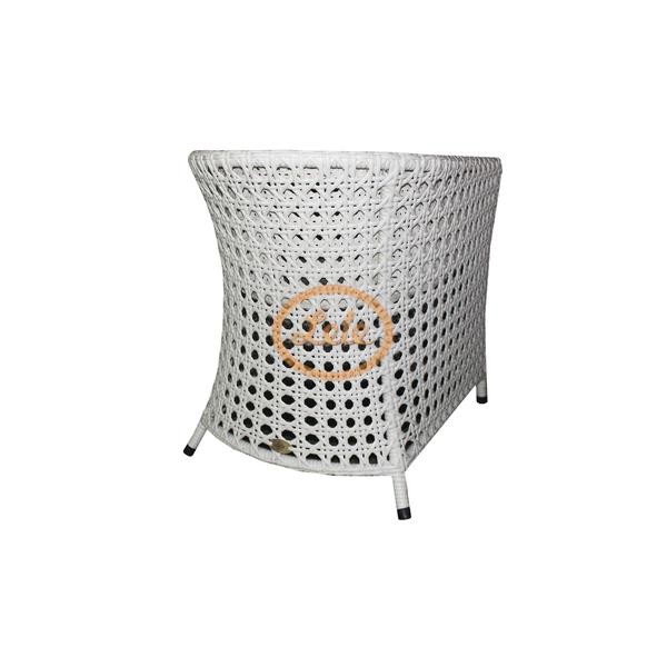 Кресло из искусственного ротанга Монако в ажурном плетении