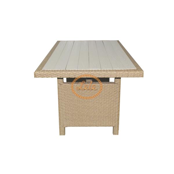 Набор садовой мебели из искусственного ротанга Севилья на  десять персон
