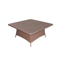 Стол обеденный из искусственного ротанга Ялта