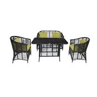 Комплект столовый  из искусственного прута  Афины