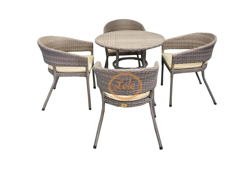 Комплект столовый из искусственного ротанга Арбат