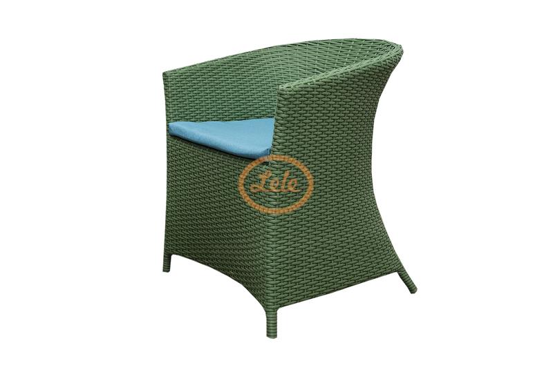 Кресло из искусственного ротанга Монако разноцветное