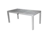 Стол из искусственного ротанга 16мм  Рица 140х70х60