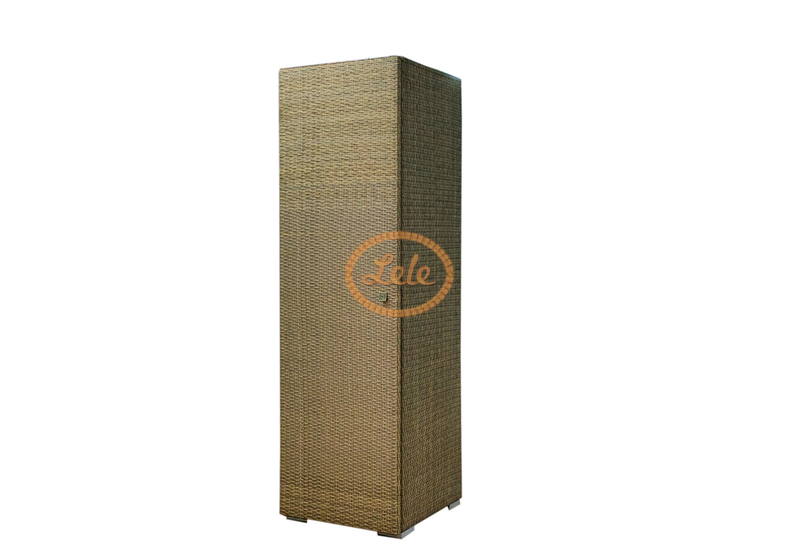 Пенал из искусственного ротанга для хозяйственнных нужд 200х60х60
