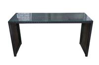 Стол из искусственного ротанга барный  Сиена  200х70х107