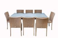 Комплект столовый из искусственного ротанга №3