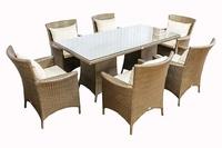 Комплект  столовый  из искусственного ротанга  Ницца  на 6 персон