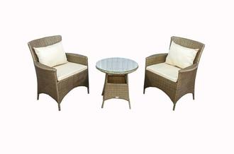 Мебельный набор из искусственного ротанга для балконов - фаб.