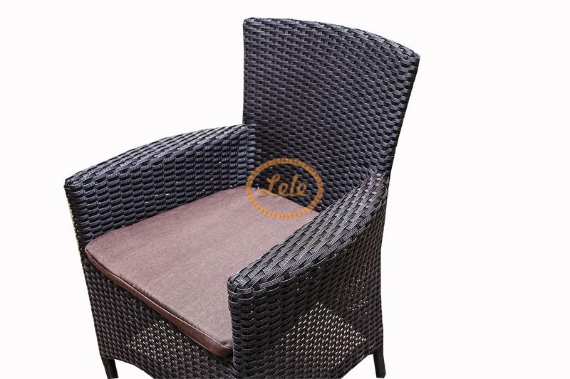 Кресло Мирисса -1 из искусственного ротанга  венге