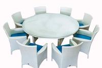 Комплект столовый из искусственного ротанга №5 слоновая кость