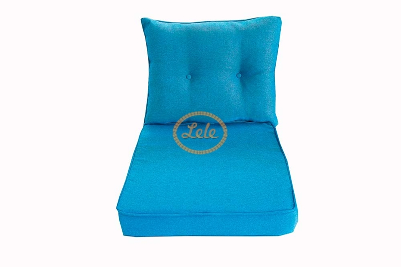 Подушки на мебель бирюза