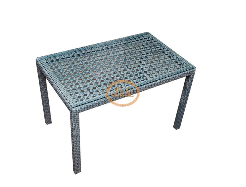 Стол из искусственного ротанга  Пеле  ажурное плетение