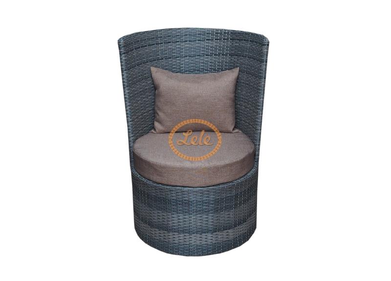 Кресло из искусственного ротанга Рио