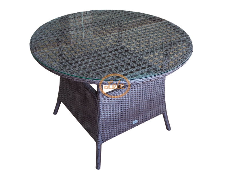 Стол из искусственного ротанга Мадрид диаметр 104 В75