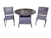 Комплект столовый из искусственного ротанга Мадрид  на две персоны