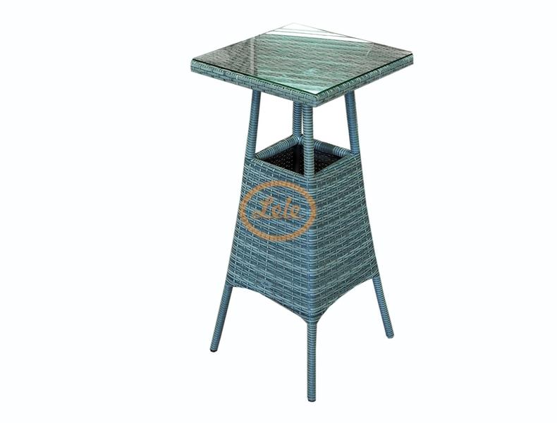 Стол из искусственного ротанга Барный