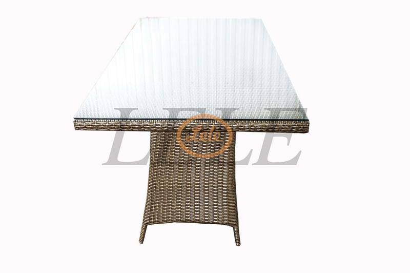 Стол из искусственного ротанга Ницца